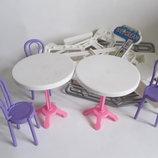 Мебель магазин для куклы кукла пупс стульчик стол стул для куклы пупса в кукольный дом