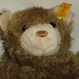 коллекционная винтажная мягкая игрушка Медведь мишка Штайфф Steiff Германия оригинал кнопка