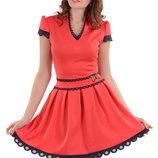 Новое нарядное кораловое платье ALPAMA 42р-ра.S