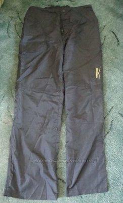 Классные мужские спортивные брюки-бриджи черного цвета новые, но без бирки