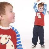 Реглан свитшот с начесом для мальчика