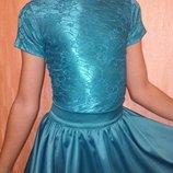 Бейсик на 8-10 лет для танцев платье танцевальное бейзик