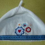 шапка для девочки 3-6 лет