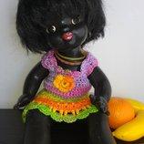 Кукла Ссср Ленигрушка африканка негритянка