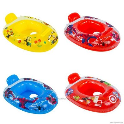 Надувной плотик лодочка круг для плавания