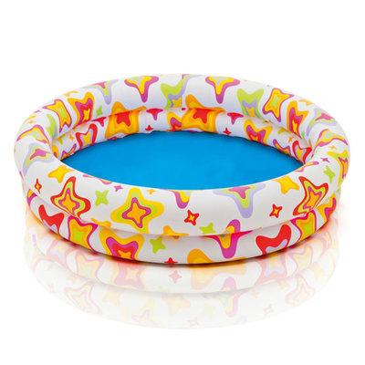 Детский надувной бассейн Intex Звезды 59421