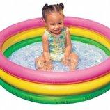 Детский надувной бассейн Красочный Intex 58924