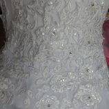Свадебное платье накидка болеро