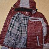 Демисезонная куртка детская, куртка для мальчиков на холодную осень или теплую зиму. размер 38.42