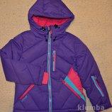 Куртка зимняя детская, теплая куртка для девочек. рост 128.158.164
