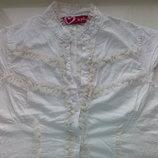 Легкая тонюсенькая летняя хлопковая блуза от Hoi polloi