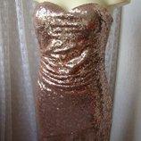 Платье вечернее в пол бомба Four Flavor р.44 6789