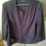 якісний піджак на підкладі 56-58 розміру