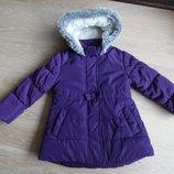 Куртка фиолетовая как новая 2-3 г Bluezoo девочке детская осень зима