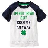 Новая футболка Carters для любимого мальчика.