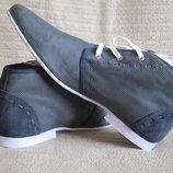 Эффектные пефорированные кожаные ботинки Dr Adams Голландия 42 р.