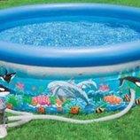 Бассейн надувн. с дельфинами 305 76см Intex Интекс 54902