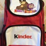 Акционный школьный рюкзак Маша и Медведь от Тм Kinder. Торг