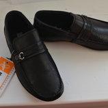 Кожаные туфли для мальчиков, 27,28 размер.Распродажа