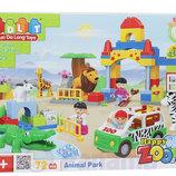 Конструктор Зоопарк 5029 JDLT 72 детали,тип Lego Duplo