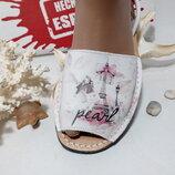 Женская летняя обувь, Менорки , абаркасы, Париж, тм avarca Испании