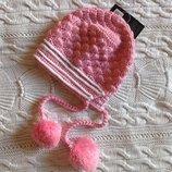 Новая вязаная шапка Juniors 18.2 см полуобхват