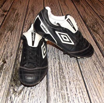 fa71d66a Кожаные футбольные бутсы Umbro для мальчика, размер 3 21,5 см : 350 ...