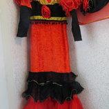 Карновально - театральное платье Кармен .