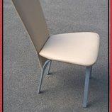 Стулья стул бежевый металлический бу с мягким сидением и спинкой для кафе бара ресторана кофейни офи
