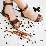 Скидки на последние размеры Натуральные сандалики в наличии