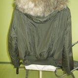 Куртка с капюшоном-очень теплая