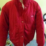 Куртка на толстом синтепоне и на флисе. Очень теплая