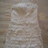 Летнее легкое корсетное платье, размер 36