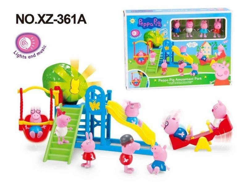 Игра Свинка Пеппа у лора Peppa Pig Nose Doctor
