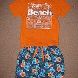 Футболка Bench и шорты Rebel 104 см