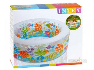 Бассейн 58480 детский надувной Intex Аквариум Интекс, басейн дитячий