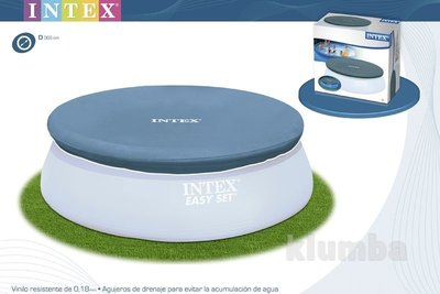 Тент, чехол 366см для надувных бассейнов Intex 28022 / 58919 Интекс, накрытие
