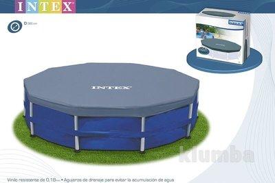 Тент, чехол 366 см для каркасных бассейнов Intex 58411 / 28031, накрытие для басейна