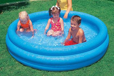 Бассейн 58446 детский надувной Кристалл, 168х41см Интекс, Intex, басейн дитячий