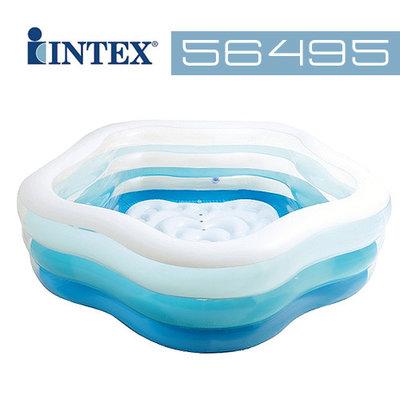 Бассейн 56495 детский надувной Intex Интекс 180х53см, басейн дитячий