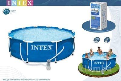 Каркасный бассейн 305х76 см Intex 28202 56999 насос - фильтр