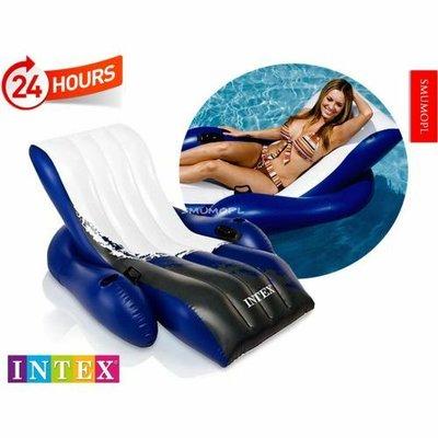 Пляжное надувное кресло - шезлонг Intex 58868 Интекс, матрас