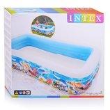 Надувной бассейн Intex 58485 Интекс, прямоугольный