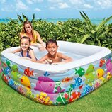 Бассейн 57471 детский надувной Intex Интекс, басейн дитячий