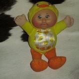 прикольный куколка-пупс капусточка Утенок CPK Play along Сша оригинал 26 см