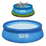 Большой семейный бассейн Интекс Intex 28130