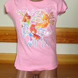 Детская футболка для девочки Винкс, Winx Sun Sity Франция 3, 4, 6 лет