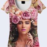 Женская футболка 3D Огромный выбор