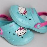 JuJu Hello Kitty р. 8 стелька 15,5-16 см Кроксы