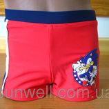 Детские плавки-шорты для мальчика Соник 3-8 лет, Sun City